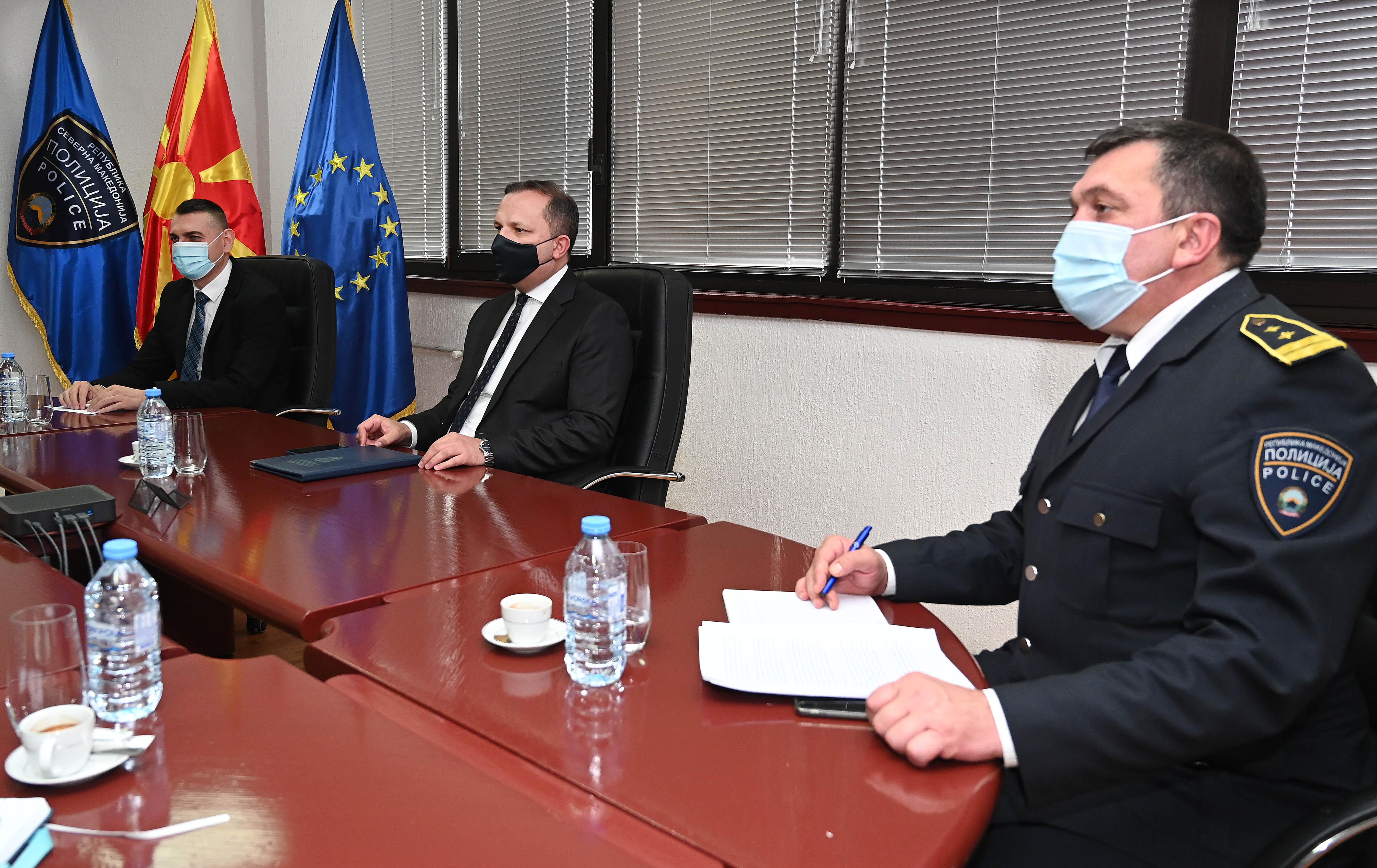 """""""Автомобилност"""" на состанок со министерот Оливер Спасовски"""